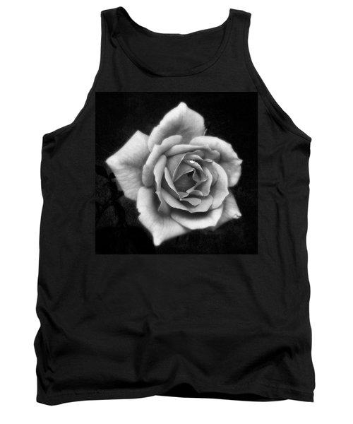 Rose In Mono. #flower #flowers Tank Top