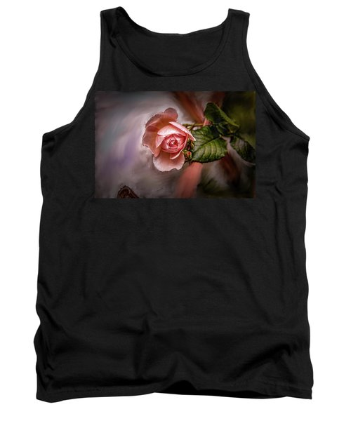 Rose On Paint #g5 Tank Top