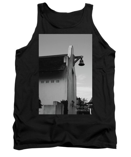Rosemary Beach Post Office In Black And White Tank Top