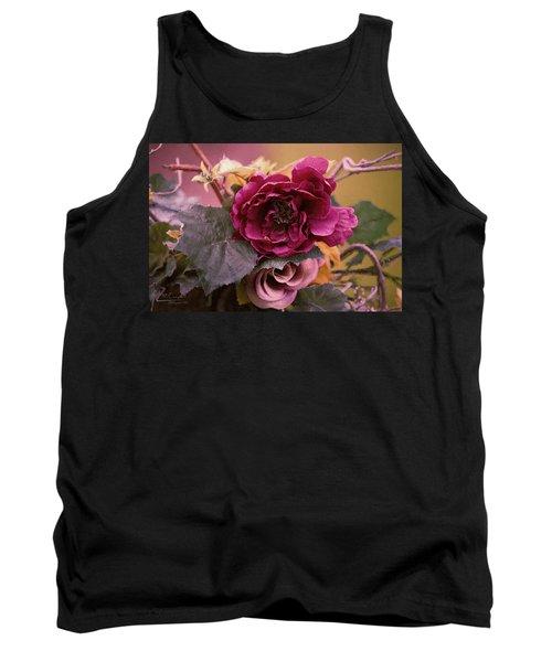 Roses In Oils Tank Top