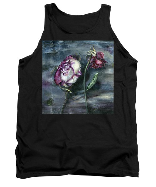 Roses Never Die Tank Top by Nadine Dennis