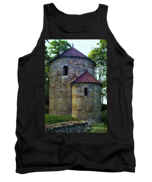 Tank Top featuring the photograph Rotunda  by Mariola Bitner