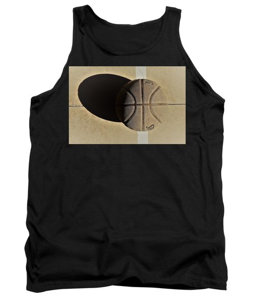 Round Ball And Shadow Tank Top