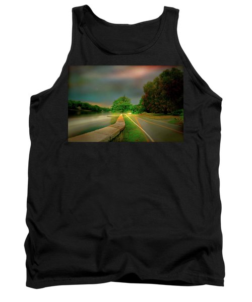 Tank Top featuring the photograph Round The Bend by Diana Angstadt