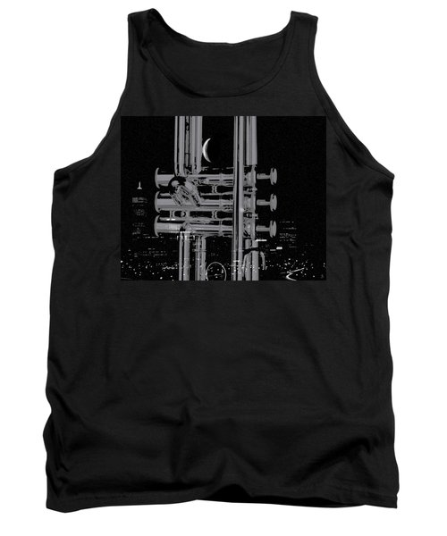 Round'bout Midnight Tank Top