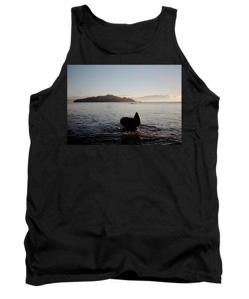 Rowing Off Sausalito, Ca Tank Top