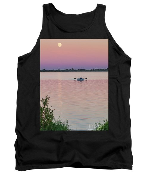 Rowing To The Moon Tank Top