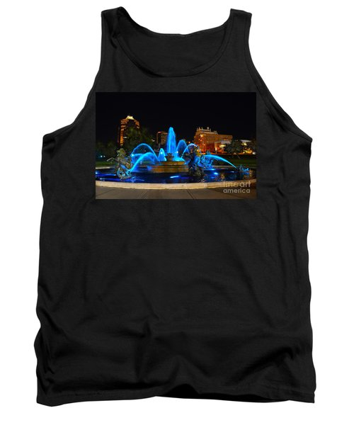 Royal Blue J. C. Nichols Fountain  Tank Top