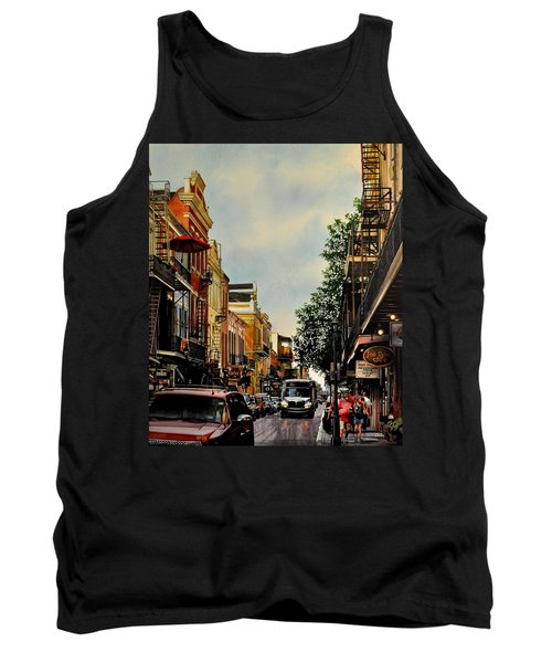 Royal Street Strole Tank Top