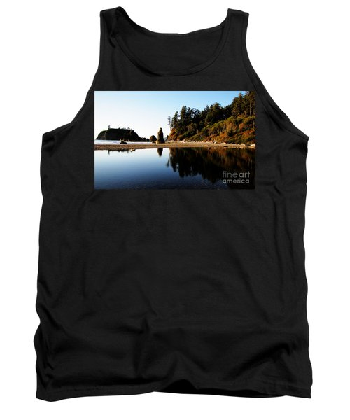 Ruby Beach Reflections Tank Top