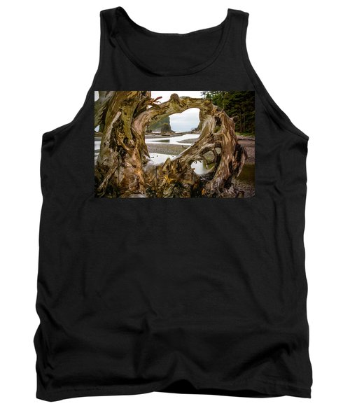 Ruby Beach Driftwood 2007 Tank Top