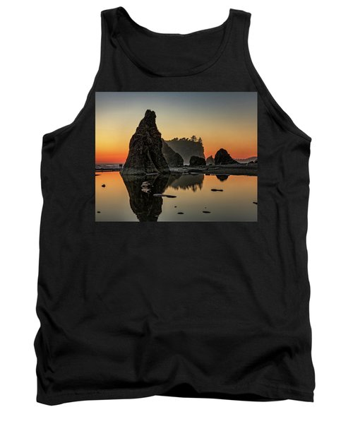 Ruby Beach At Sunset Tank Top