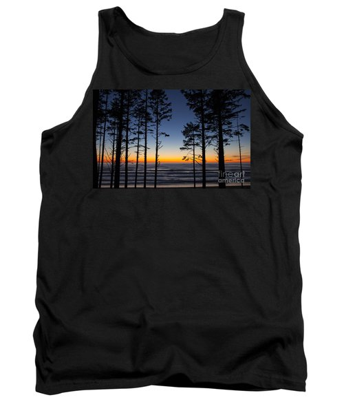Ruby Beach Trees #4 Tank Top