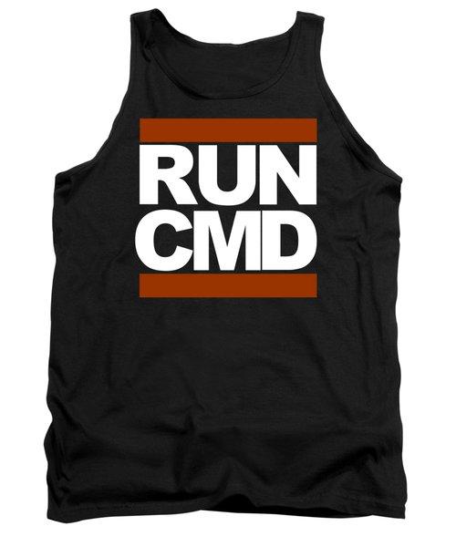 Tank Top featuring the photograph Run Cmd by Darryl Dalton