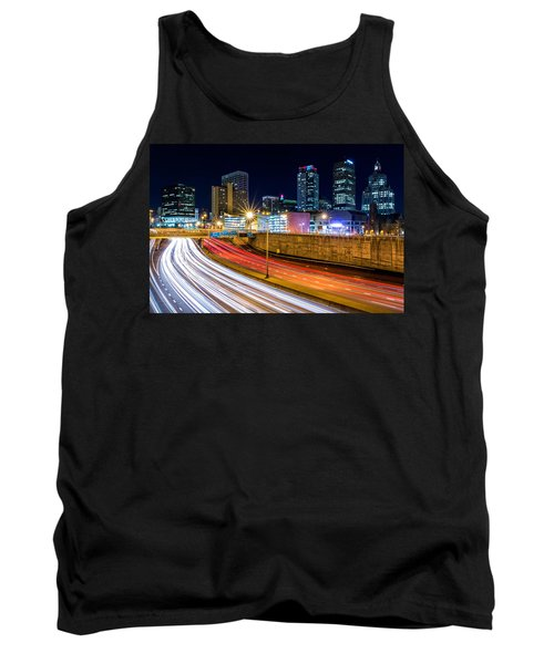 Rush Hour In Hartford, Ct Tank Top