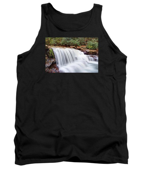 Tank Top featuring the photograph Rushing Waters Of Decker Creek by Gene Walls