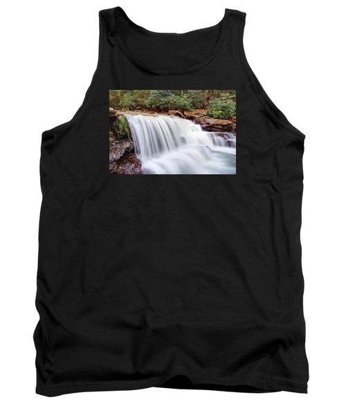 Rushing Waters Of Decker Creek Tank Top by Gene Walls