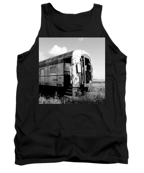 Rusting On The Rails Tank Top