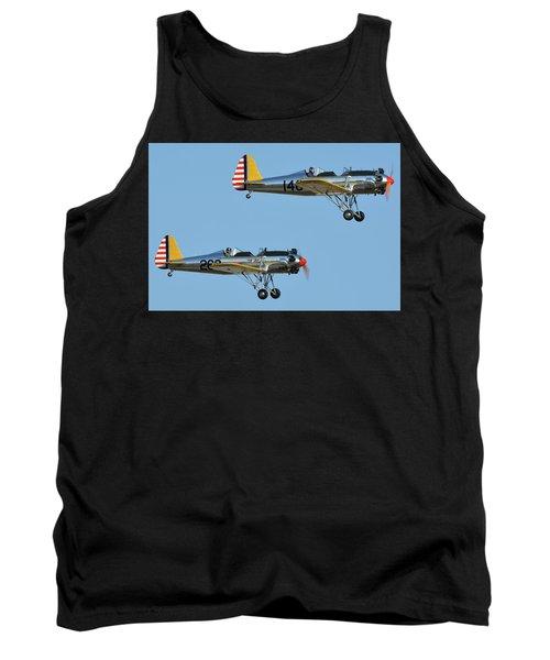 Ryan Pt-22 N48777 146 And Pt-22 N48742 269 Chino California April 29 2016 Tank Top