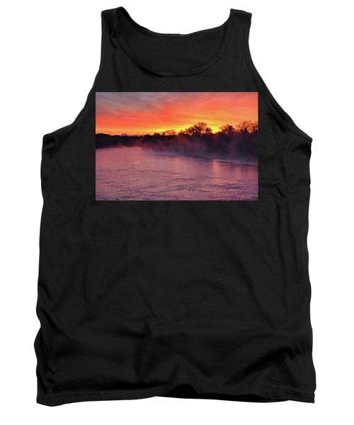 Sacramento River Sunrise Tank Top
