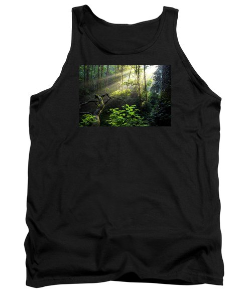 Sacred Light Tank Top by Chad Dutson