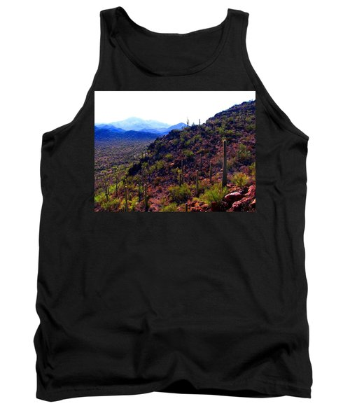Saguaro National Park Winter 2010 Tank Top