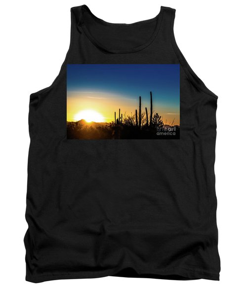 Saguaro Sunset Tank Top