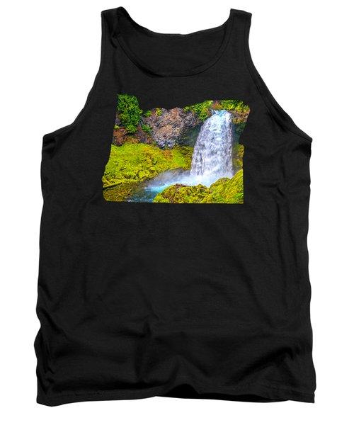Sahalie Falls Oregon Tank Top