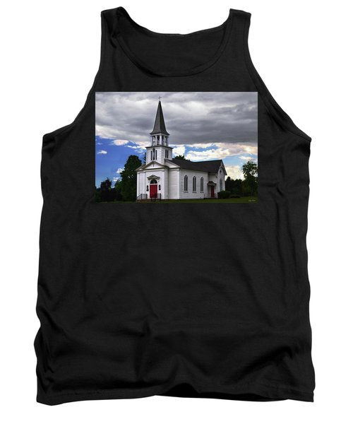 Tank Top featuring the photograph Saint James Episcopal Church 001 by George Bostian