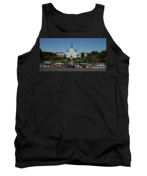 Saint Lewis Cathedral French Quarter New Orleans, La Tank Top