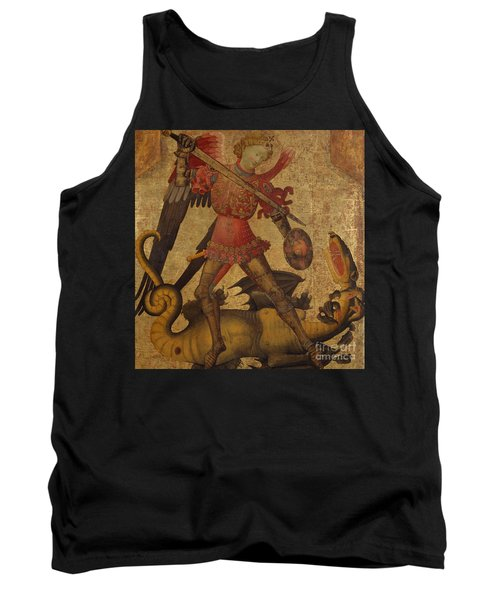 Saint Michael And The Dragon Tank Top