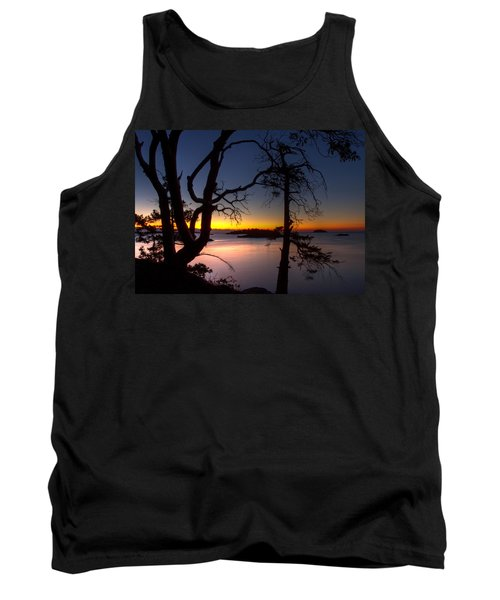Salish Sunrise Tank Top by Randy Hall