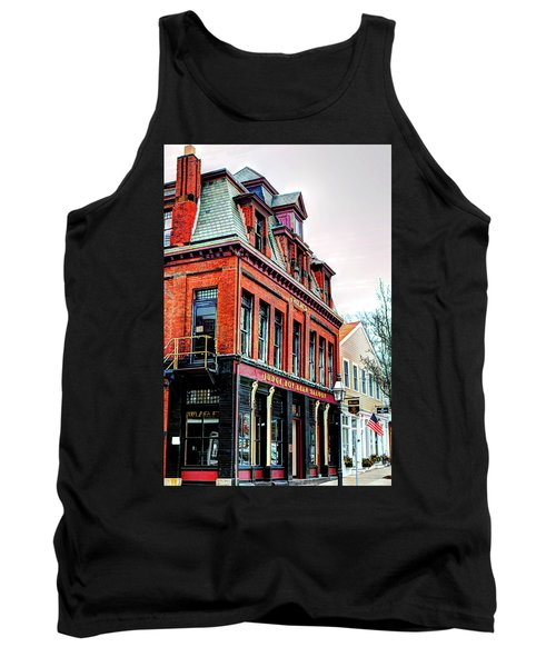 Tank Top featuring the photograph Saloon Bristol Ri by Tom Prendergast