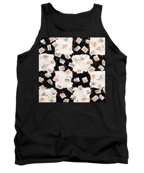 Salt And Pepper Tank Top by Thomas Blood