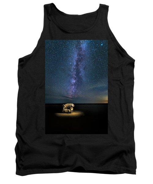 Salt Flats Milky Way Chair Tank Top