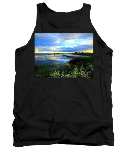 Salt Marsh Tank Top by Shelia Kempf