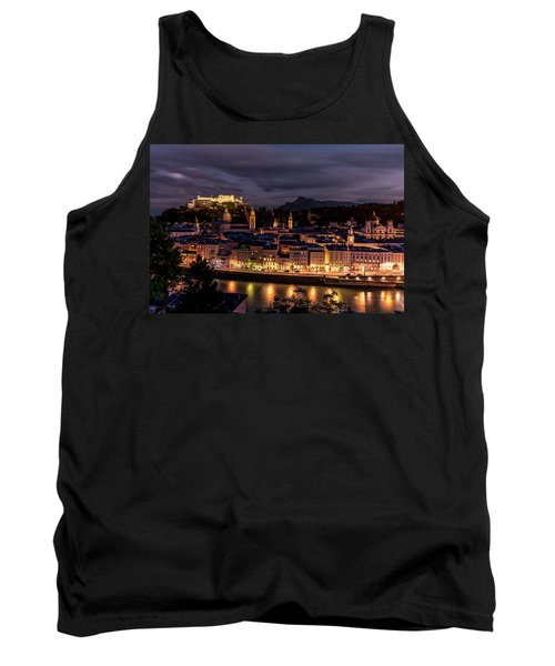 Tank Top featuring the photograph Salzburg Austria by David Morefield