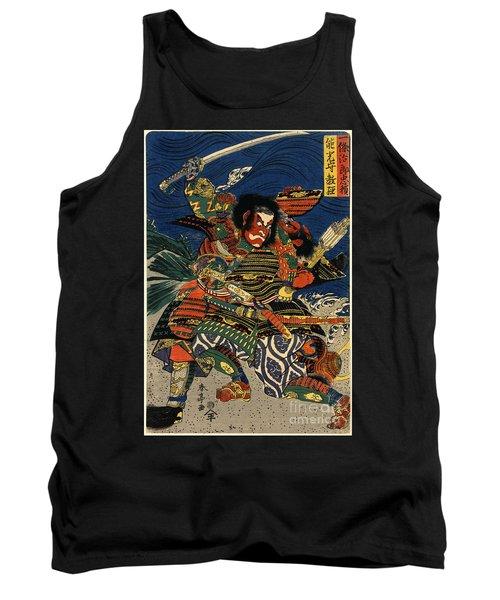 Samurai Warriors Battle 1819 Tank Top by Padre Art
