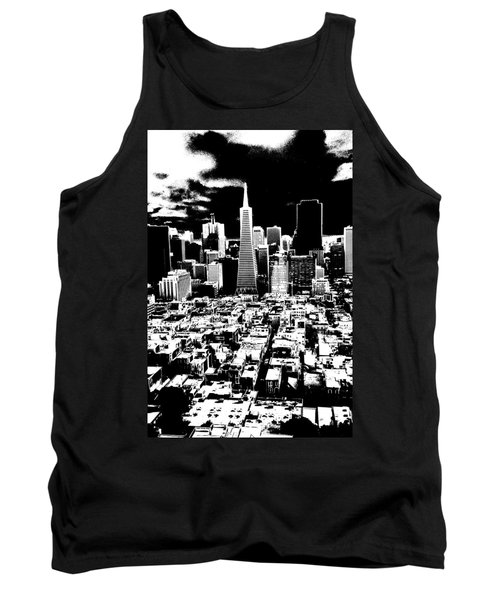 San Francisco Skyline - Ink Tank Top