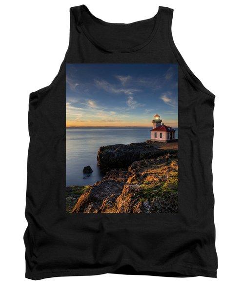 Tank Top featuring the photograph San Juan Island Serenity by Dan Mihai