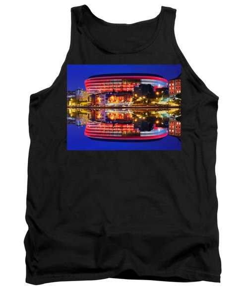 San Mames Stadium At Night With Water Reflections Tank Top