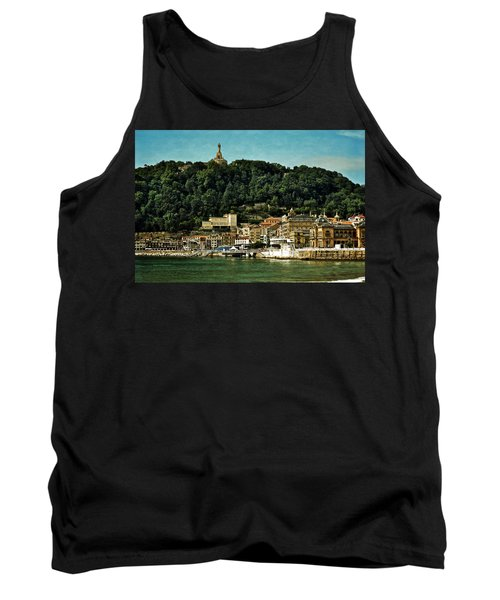 San Sebastian Spain Tank Top by Mary Machare