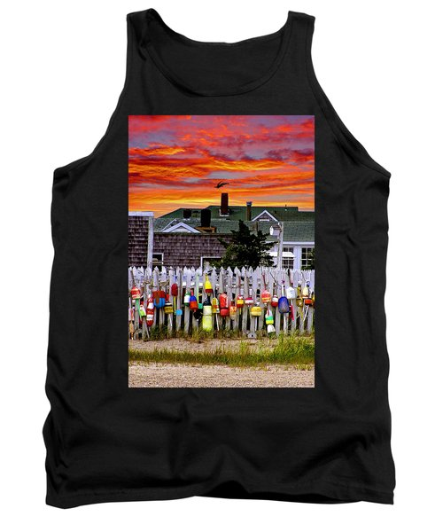 Sandy Neck Sunset Tank Top