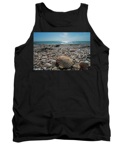 Sanibel Island Sea Shell Fort Myers Florida Tank Top