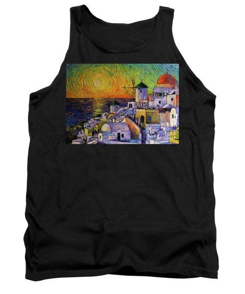 Santorini Sundown Tank Top