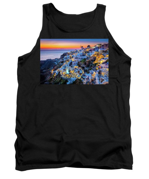 Santorini Sunset Tank Top