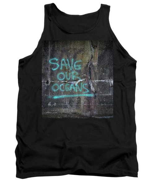 Save Our Oceans Tank Top