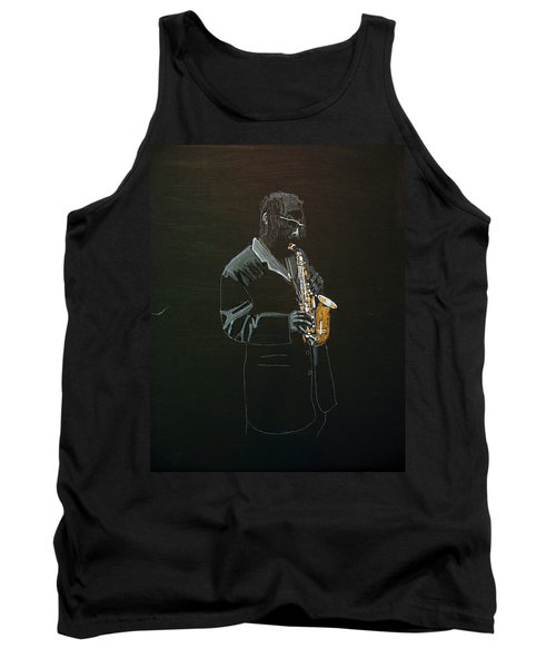 Sax Player Tank Top