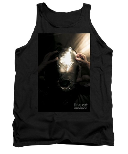 Scary Face Of Terror Tank Top