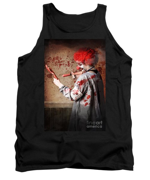 Scary Medical Clown Injecting Horror Into Limb Tank Top